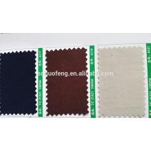 "100% algodón Spandex sarga 280GSM 53/4 ""tela P / D"