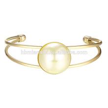 2017 neue silber armbänder designer 22 karat gold einfache design armreifen neuesten frauen mode dünne ball gemalt