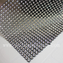 "4.65 ""x 10 Yard acryl Diamond Mesh Wraps Strass lint voor bloem Craft trimmen"