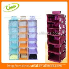 colorful hanging bag/ storage bag/ closet hanging organizer