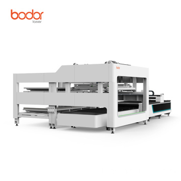 Mesin laser cutting serat 1kw