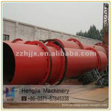 Buena capacidad Quarz de secado secador rotatorio de arena