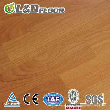 AC3 Hohe Qualität und Bester Preis 12mm Unilin Click 100% Wasserdicht Holz E1 Grade HDF Hochglanz Vintage Eiche Laminatboden