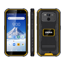 Alps A8+ IP68 Waterproof 5.5Inch Android Rugged Phone NFC Function RAM 3GB ROM 32GB 4G LTE Smart Mobile Phone UNIWA F963