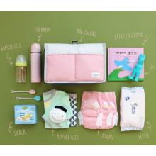 Розовые детские милые пеленки сумки подгузник организатор мама сумка