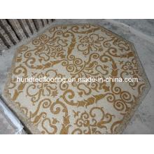 Stone Mosaic Floor Tile, Marble Mosaic Pattern (STP87)