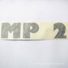 Impressão feita sob encomenda da etiqueta do vinil cortou etiquetas do vinil com filme de transferência