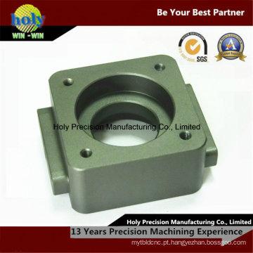Alumínio do CNC da base 6061 anodizada que faz à máquina do centro do CNC