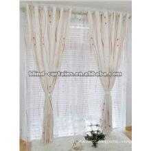2015 new design soft jacquard curtain