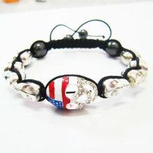 100% Excellente Bracelets en forme de Shamballa à la main Bracelet UK Shamballa Bracelet BR18