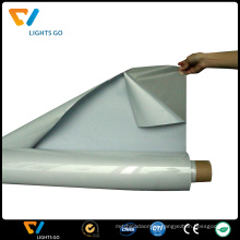 high light silver reflective heat vinyl film on textile for 50 wash cycles
