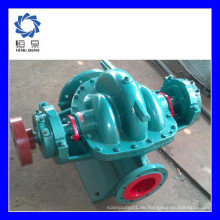 SH serielle horizontale Typ Doppel-Saug-Split-Gehäuse landwirtschaftliche Diesel-Wasser-Pumpen