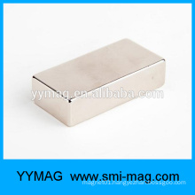 High quality Chinese manufacturer sinter NdFeB/neodymium block N42 magnet for sale