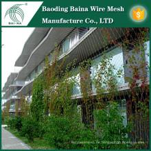 Versorgungsanlage, die Mesh / Green Wall Mesh Zaun Netz unterstützt