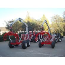 ATV Timber Trailer With Crane/ Log Trailer with Crane ZM3004