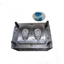 Computer mouse wheel cover plastic part injection mold