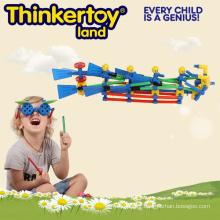 Bloc de construction de jouets créatifs pour enfants en forme de bateau