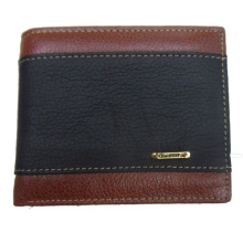 Casual wallet contrast color purses for men
