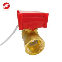 La válvula de bola teledirigida más barata automática del flujo del polvo del respiradero de aire