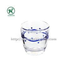 Bouteille en verre double par BV, SGS, (Dia8.3cm, H: 8.3cm, 220ml)