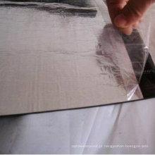 Membrana impermeável betuminosa modificada reforçada de APP / Sbs com superfície de alumínio (espessura de 3.0mm / 4.0mm / 5.0mm)