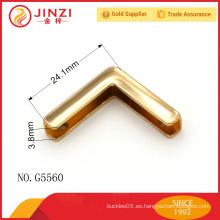 Accesorios superiores del metal del diseño de la aleación del cinc de la manera de la venta superior para los bolsos y los zapatos