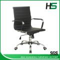 Hot style modern black leather swivel lift chair