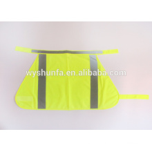 safety vest for pets traffic safety vest with 100% polyester tricot safety clothing