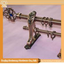 Buena calidad nueva cortina de diseño anillos de latón