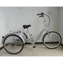 """24"""" S Type Frame Tricycle with Shimano 6speed (FP-TRCY038)"""