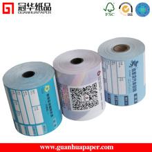 Bilhete, POS, uso de etiquetas e papel térmico de revestimento revestido