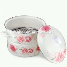 vaporizador de esmalte Caldeiras duplas pote de vapor de esmalte Pote de caldeiras duplas