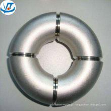 O cotovelo de aço inoxidável da tubulação da parede fina de 201 304 316 dimensiona 22,5 graus