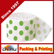 Green Polka DOT Party Streamer (420049)