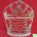2014 Weihnachtsmann Krone, große Festzug Krone, hohe Tier Tiaras zum Verkauf