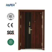 Two Colors One and Half Steel Door (RA-S149)