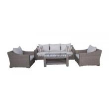 Ensemble de Sofa en osier de rotin jardin salon meubles Patio