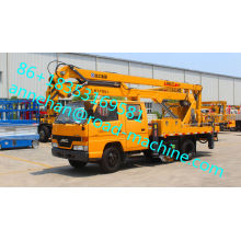 32M Truck Mounted Telescopic Aerial truck