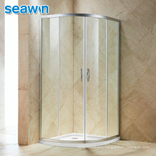 Seawin Tempered Glass Door Curved Room Enclosure Half Round Shower Cabins