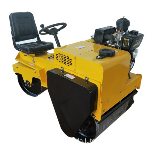 Double Trommel Vibratory Road Roller Machine