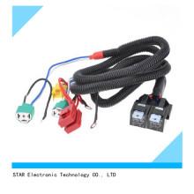H4 30A Elektrische Auto Scheinwerfer Glühbirne Kabelbaum Adapter für Auto