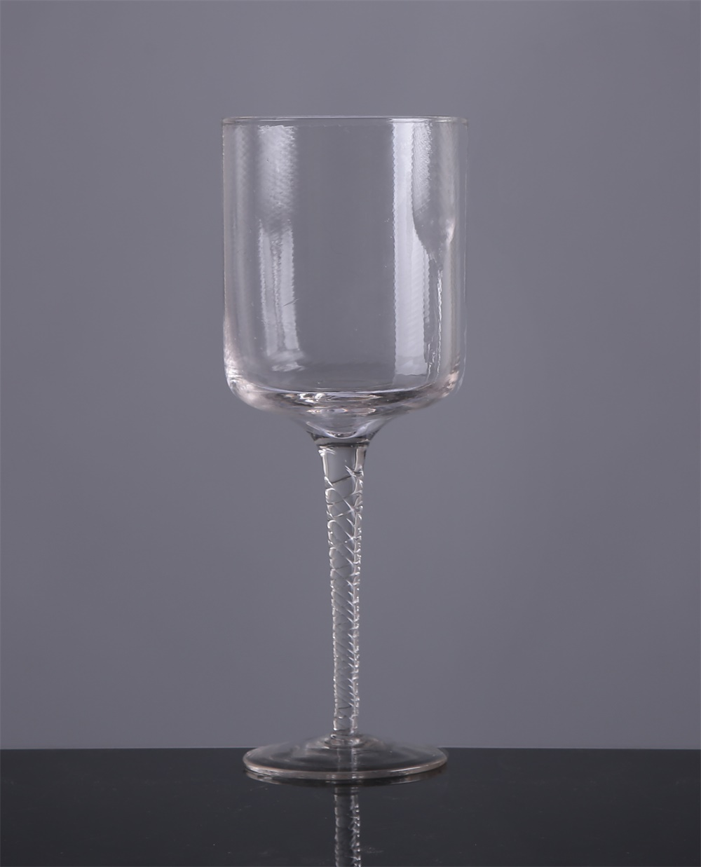 Br 9033long Stem Glass Candle Holder