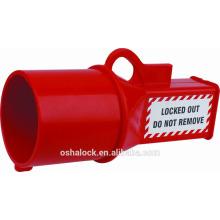 Промышленная водонепроницаемая блокировка гнезда BD-D45-1 для LOTO, блокировка главного штыря brady
