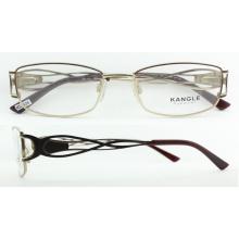 2017 neueste Design Metall optische Brillen Rahmen mit Federscharnier