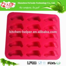 Eco-friendly FDA LFGB Aprovado Cozinha Cozinhar Ferramentas Home Ice Maker Macio Cute Car forma Silicone Ice Mould