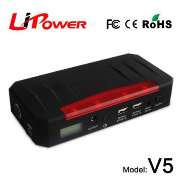 Производитель 20000mAh 12 вольт литий-ионный аккумулятор автоматическое зарядное устройство автомобиля в аварийный инструмент