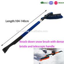 съемный К/Д снег щеткой с густой и мягкой щетиной и телескопической ручкой