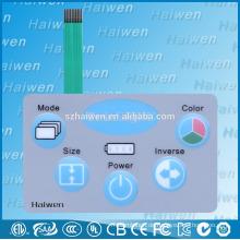 Neues Produkt benutzerdefinierte neue Membran-Schalter mit LED-Hintergrundbeleuchtung