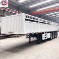 4Axles 80T Grid Position Transport Cargo Semi Trailer