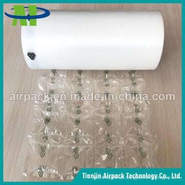 Película do coxim da bolha de ar do material de empacotamento plástico